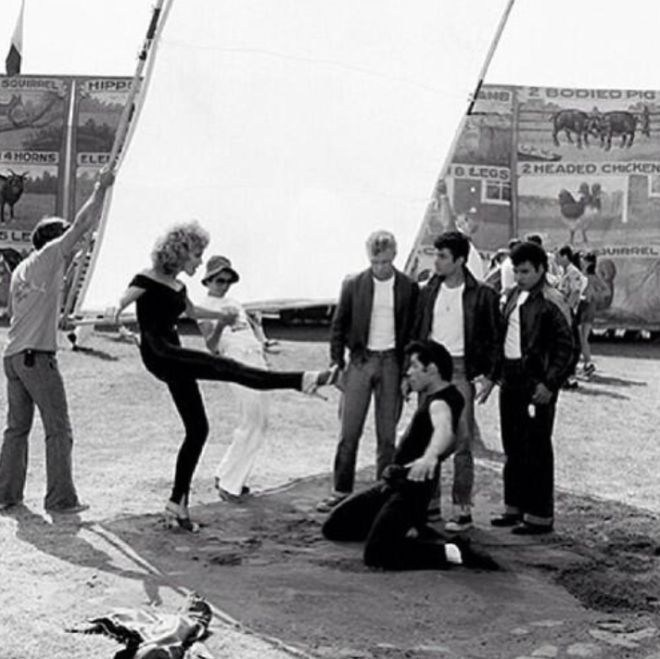Dance Rehearsals Grease 1978 Shotonwhat Behind The Scenes
