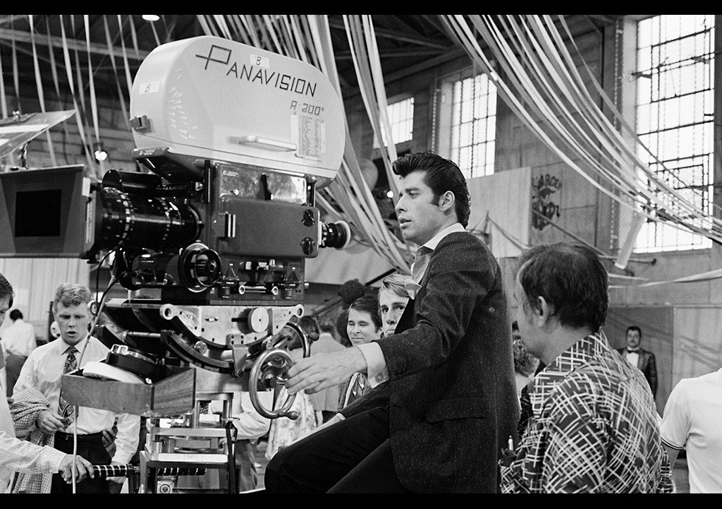 John Travolta : Grease (1978) Behind the Scenes