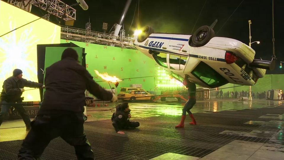 The Amazing Spider-Man 2 Behind the Scenes