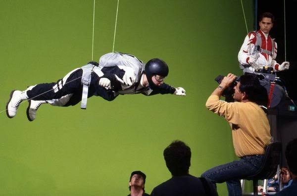 Mighty Morphin Power Rangers: The Movie Behind the Scenes Photos & Tech Specs