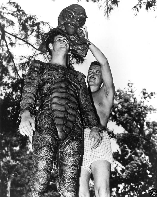 Creature from the Black Lagoon Behind the Scenes Photos & Tech Specs