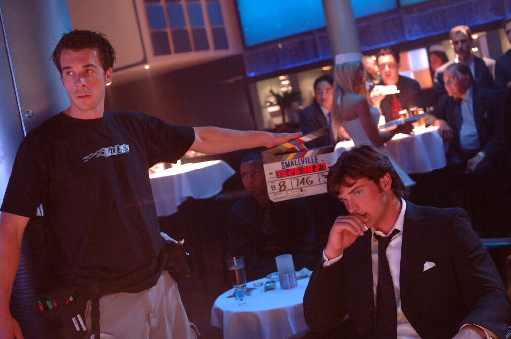 From the Smallville TV Series (2001-2011) Behind the Scenes