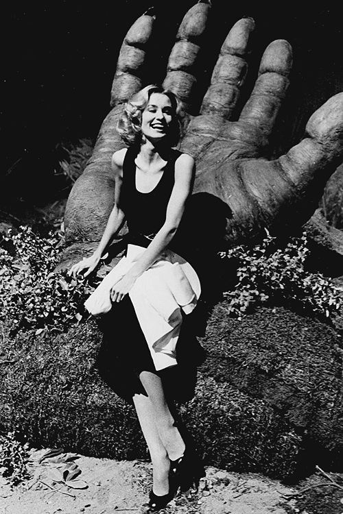 Jessica Lange in King Kong (1976) Behind the Scenes