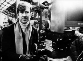 Director David Lynch on the set of The Elephant Man - Behind the Scenes photos