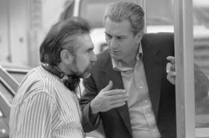 Martin Scorsese With Robert De Niro - Behind the Scenes photos