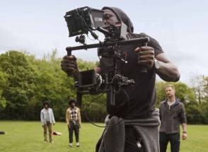 Idris Elba Directs the R3HAB Music Video - Behind the Scenes photos