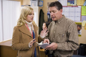 Anna Faris with David Zucker - Behind the Scenes photos