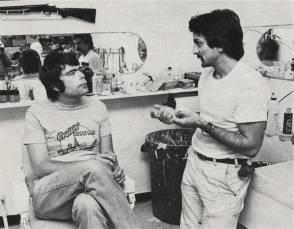 Stephen King & Tom Savini - Behind the Scenes photos