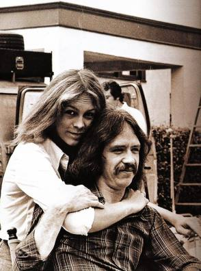 Jamie Lee Curtis and John Carpenter - Behind the Scenes photos