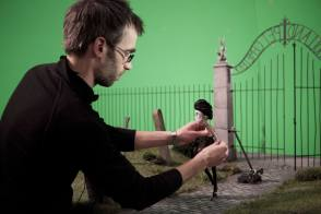 Making Of A Pet : Frankenweenie (2012) - Behind the Scenes photos