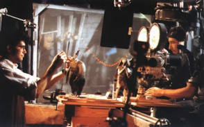 The Actors In Nightmare Before Christmas (1993) - Behind the Scenes photos