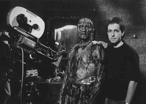 Sean Chapman with Clive Barker - Behind the Scenes photos