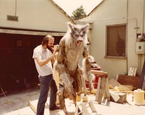 Werewolf Prop From The Howling (1981) - Behind the Scenes photos