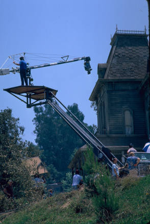 On The Set Of Psycho II (1983)