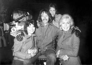 Taking A Break During Filming The Fog (1980) - Behind the Scenes photos