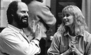 Cracking Jokes On The Set : John Carl Buechler &  Lar Park Lincoln - Behind the Scenes photos