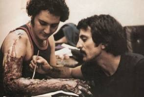 Tom Savini, The Legendary Makeup Artist - Behind the Scenes photos