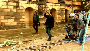 From The Film Pride & Prejudice (2005) - Behind the Scenes photos