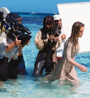Pirates of the Caribbean: The Curse of the Black Pearl (2003) - Behind the Scenes photos