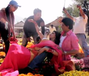 Chennai Express (2013) : SRK & Deepika - Behind the Scenes photos