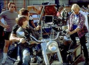 James Cameron Shooting A Film - Behind the Scenes photos