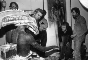 The Making Of The Creature : Alien (1979) - Behind the Scenes photos