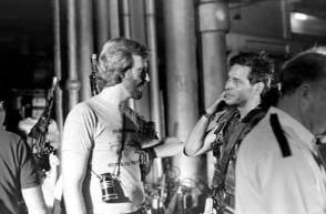 James and James : Aliens (1986) - Behind the Scenes photos