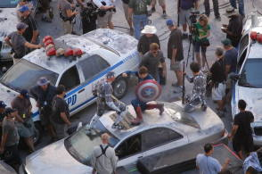 The Avengers (2012) - Behind the Scenes photos