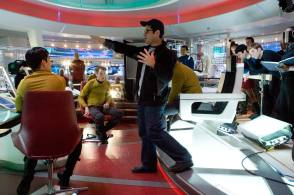 J. J. Abrams Directs : Star Trek (2009) - Behind the Scenes photos