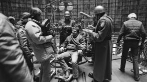 Director Terry Gilliam On The Set - Behind the Scenes photos