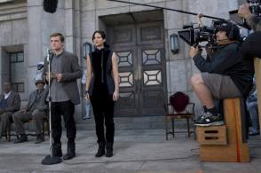 Shooting The Hunger Games: Catching Fire (2013) - Behind the Scenes photos