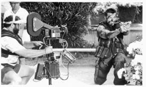 Commando (1985) - Behind the Scenes photos