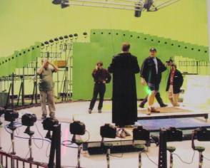 Bullet Time Rig : The Matrix (1999) - Behind the Scenes photos
