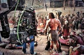 Dwayne Johnson as Hercules (2014) - Behind the Scenes photos