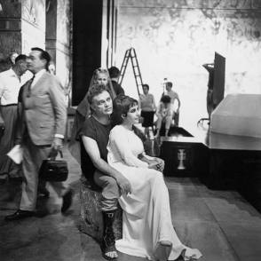 The Queen of Egypt, Cleopatra - Behind the Scenes photos