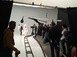 President Snow in Hunger Games : Mockingjay Part 1 - Behind the Scenes photos