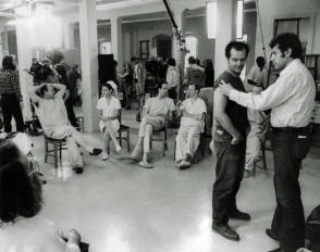 One Flew Over the Cuckoo's Nest (1975) - Behind the Scenes photos