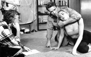Rehearsing a Scene : Total Recall (1990) - Behind the Scenes photos