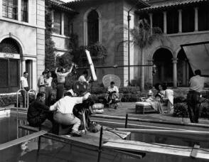 Sunset Boulevard (1950) - Behind the Scenes photos