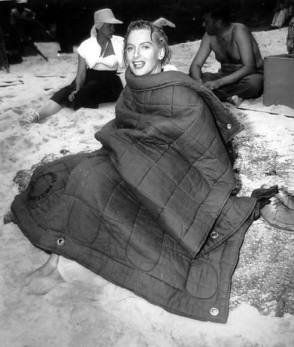 Deborah Kerr : From Here to Eternity (1953) - Behind the Scenes photos