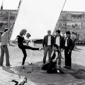 Dance Rehearsals : Grease (1978) - Behind the Scenes photos