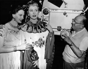 On the Set of Julius Caesar (1953) - Behind the Scenes photos