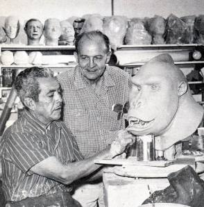 Model Making : King Kong (1933) - Behind the Scenes photos