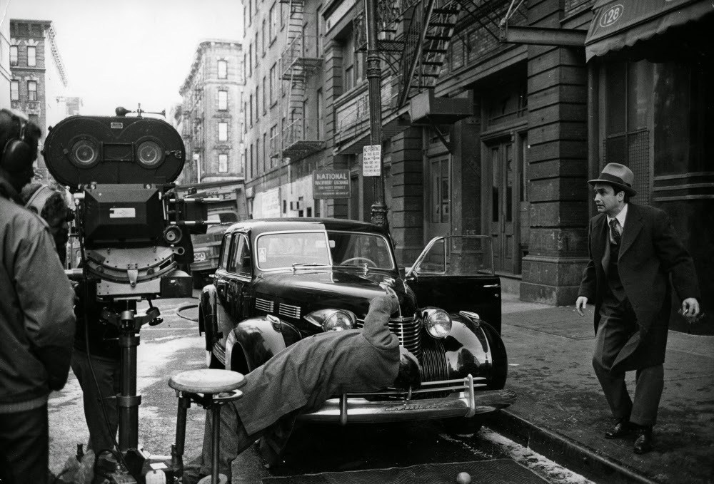 Rare Behind the Scenes Photos from The Godfather Trilogy Behind the Scenes