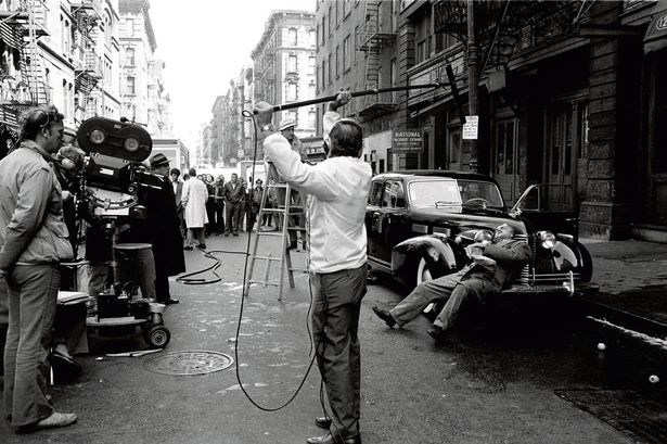 Rare Behind the Scenes Photos from The Godfather Trilogy (part 1) Behind the Scenes