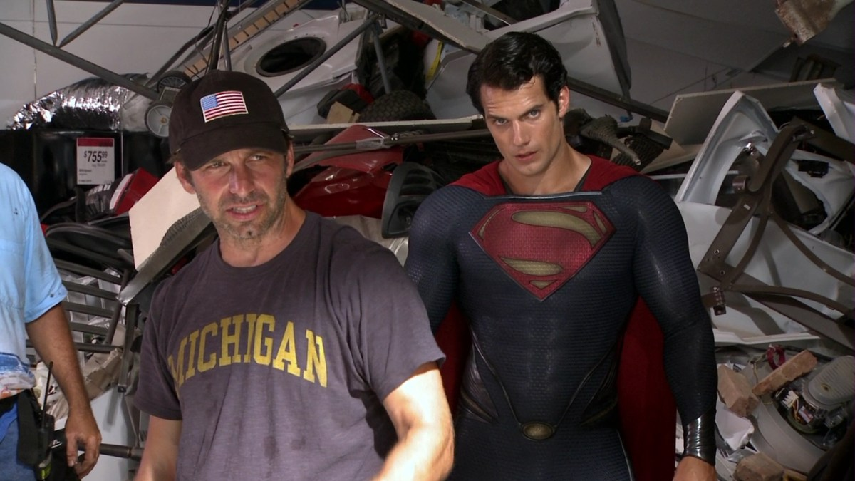Henry Cavill Nominated For Critics' Choice Award The Man of Steel 2013 Behind the Scenes
