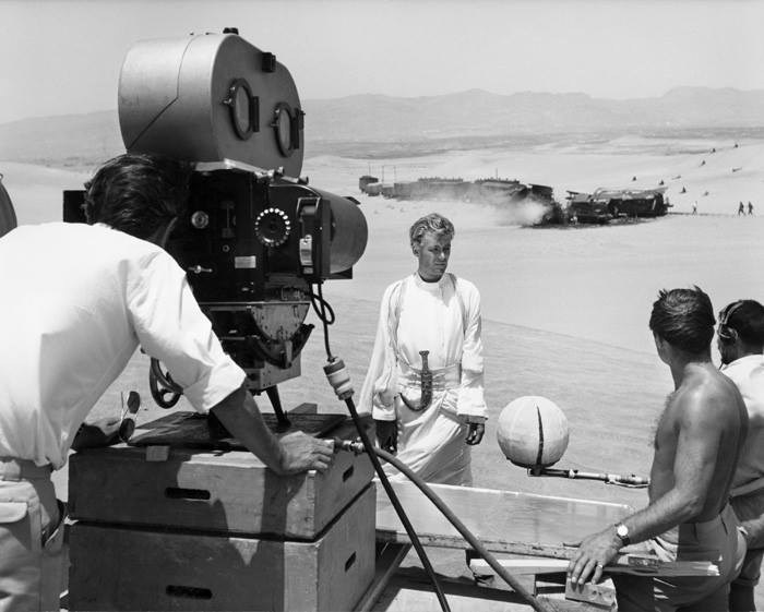 Oscar-winning classic Lawrence of Arabia (1962) Behind the Scenes