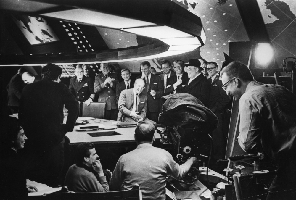 Rare on-set images give a glimpse of great minds at work Behind the Scenes