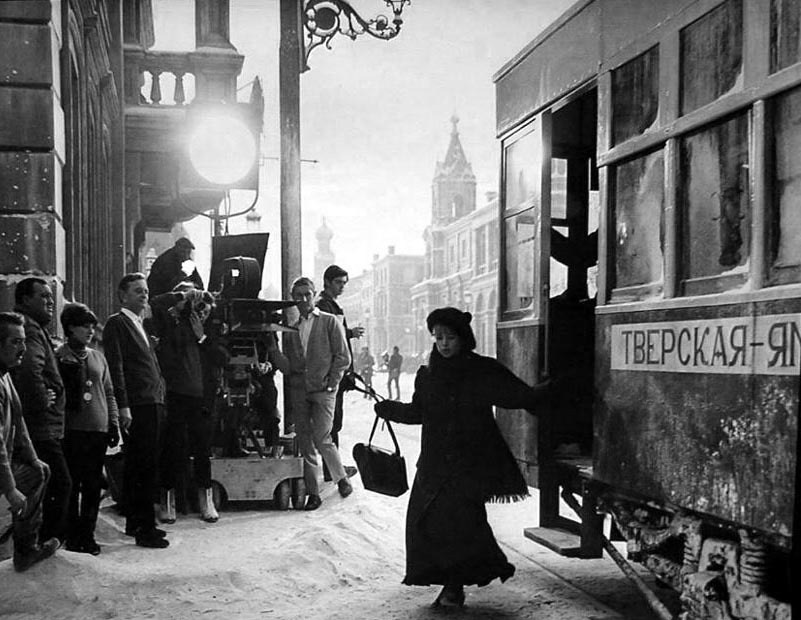 Behind the scenes of Doctor Zhivago 1965 Behind the Scenes