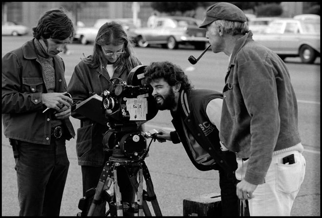 Hidden Treasure: Lost photos from the set of American Graffiti 1973 Behind the Scenes